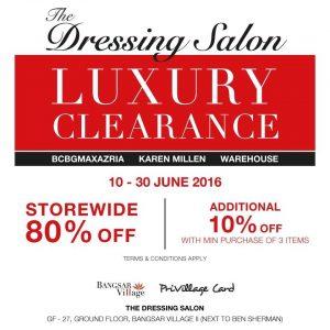 Bangsar-Village-The-Dressing-Salon-Luxury-Clearance-Sale