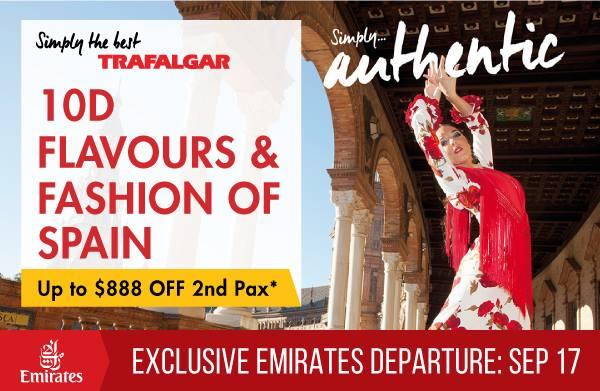 Chan Brothers Travel & Trafalgar Exclusive Presents