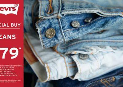 Singapore: Levi's Jeans Special Buy @ $79* (until 30 Jun 2016)