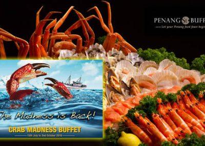 Singapore: Penang St. Crab Madness Buffet is Back (15 Jul – 2 Oct 2016)