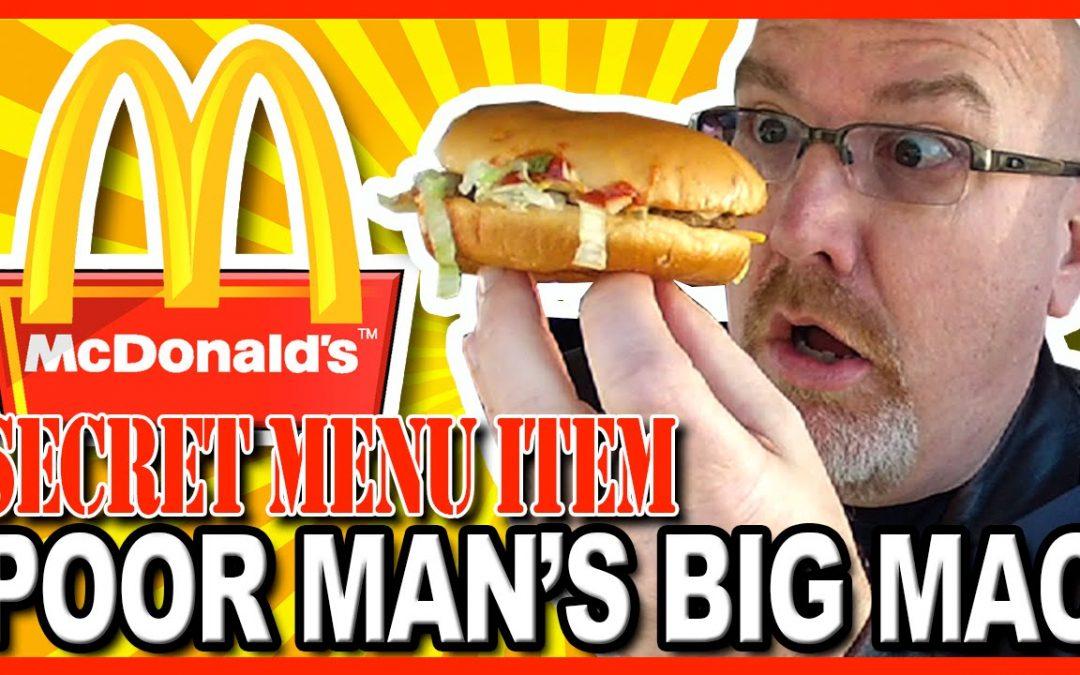 Secret Menu: McDonald's, Poor Man's Big Mac