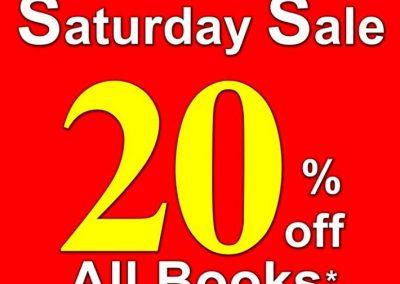 Singapore: MPH Bookstores – 20% off all Books on Saturdays at Robinson Road (16, 23 & 30 Jul 2016)