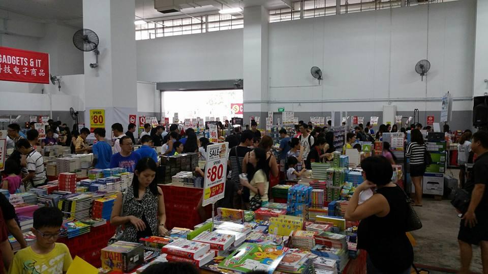 Singapore Popular Bookstore Warehouse Sales 6 10 Jul