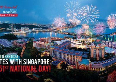 Singapore: Resorts World Sentosa – S.E.A. Aquarium, Adventure Cove, Fratelli, Free Parking & More  (Till 31 Aug 2016)