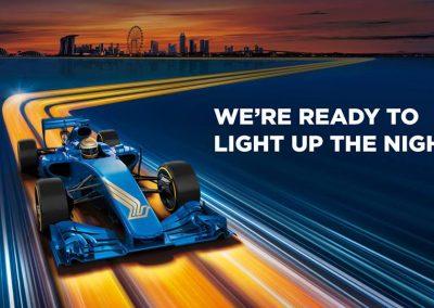 Singapore: SIA F1 – Lighting Up Event (20 Aug 16) 12 PM – 9 PM