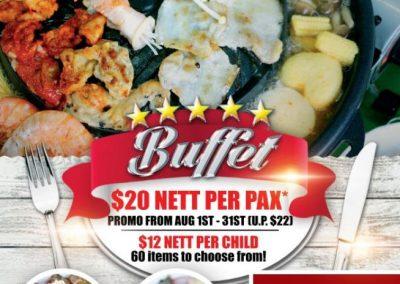 Singapore: Soi 55 – $20 Nett for Mookata Buffet at Boon Lay (1 – 31 Aug 2016)