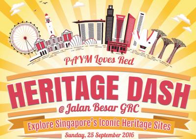 Singapore: Heritage Dash at Jalan Besar GRC (25th Sep 2016)