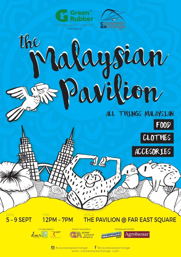 the Malaysian Pavilion
