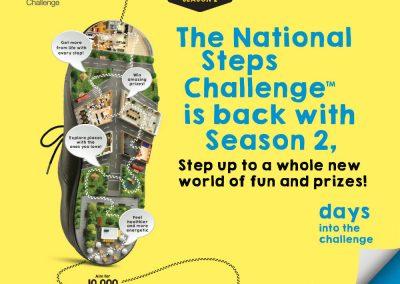 Singapore: National Steps Challenge Season 2 – FREE Steps Tracker (Till 30 Apr 2017)