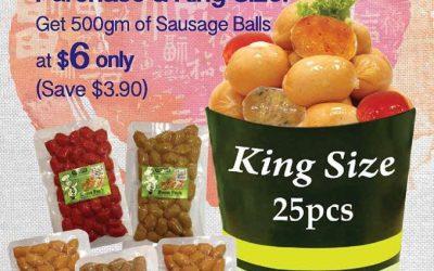 Singapore: GoGo Franks Sausage Balls for $6 (Till 31 Jan)