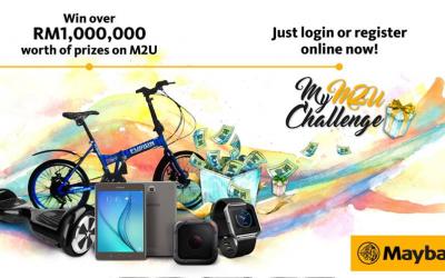 Malaysia: Maybank, My M2U Challenge (16 November 2016 – 15 March 2017)