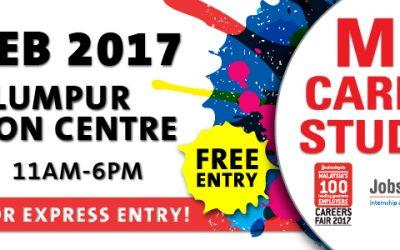 Malaysia: Mega Careers & Study Fair KLCC (18-19 Feb 2017)
