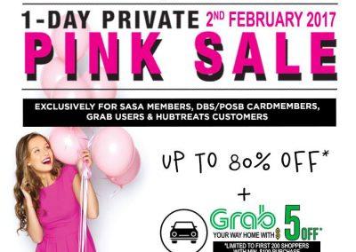 Singapore: Sasa – Up to 80% OFF Storewide! (2 Feb 2017)