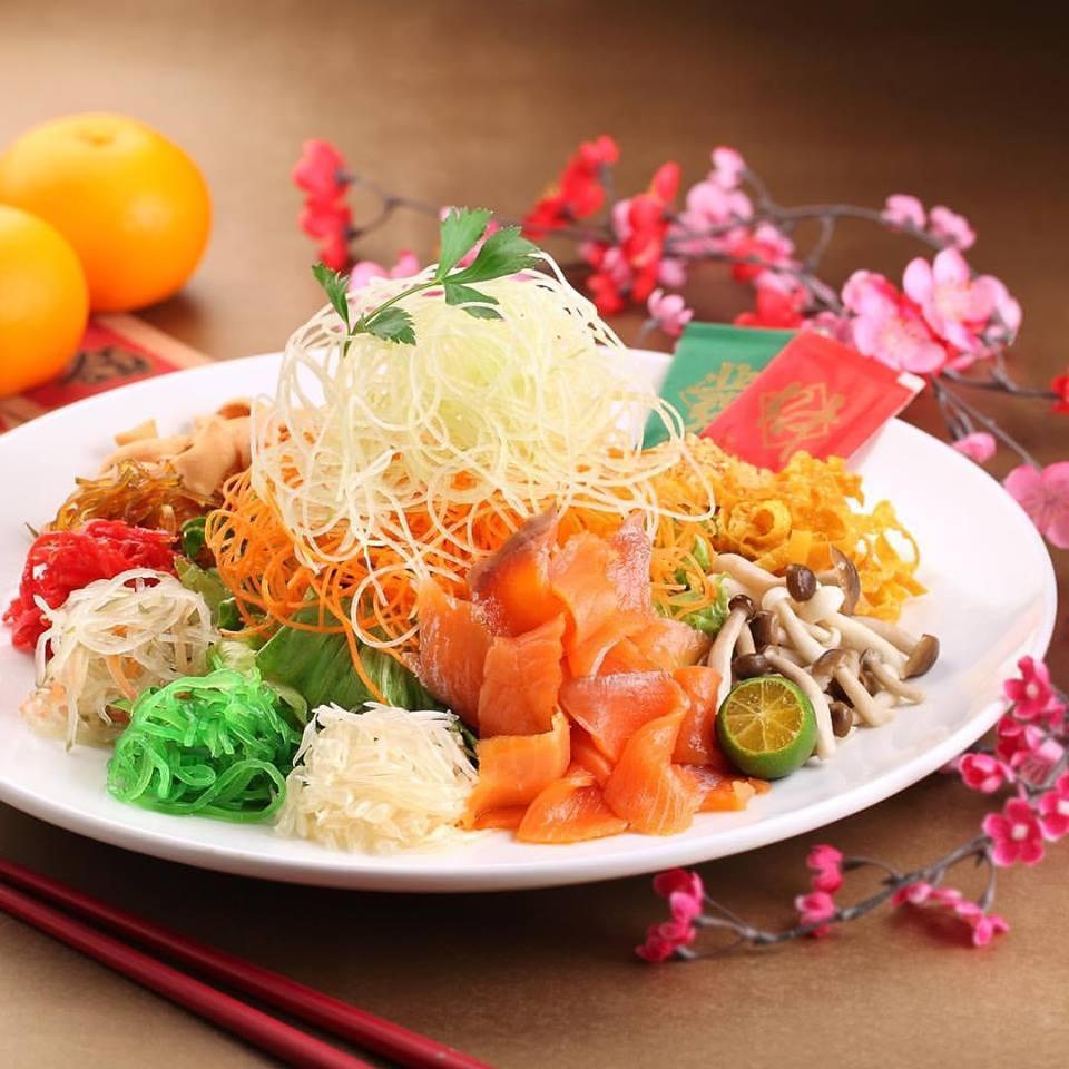 Singapore: Swensen's Fortune 18 Yu Sheng