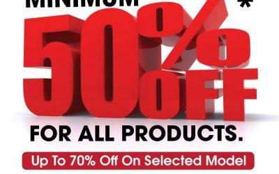 Singapore: EuropAce – 50 – 70% Off on Display & Refurbished Sets Sale (12 – 26 Jan 2016)