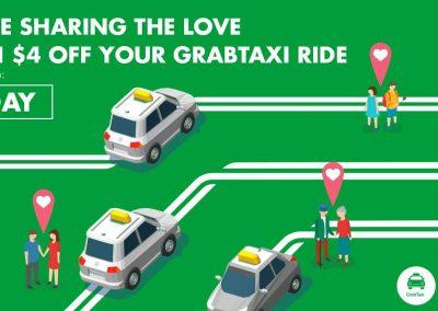 Singapore: Grab – $4 Off GrabTaxi (Till 19 Feb 2017)