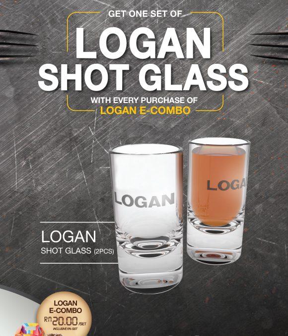 "Malaysia: Golden Screen Cinemas – Logan E-Combo Shot Glass ""Limited Edition"" (While Stocks Last!)"