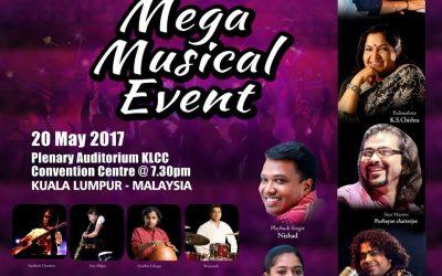 Malaysia: Mega Musical Event (20 May 2017)