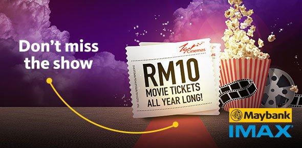 Malaysia – TGV & Maybank IMAX Promotion (Valid till 31st December 2017)