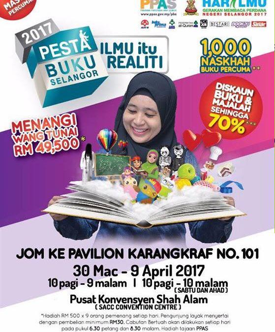 Malaysia: Kumpulan Media Karangkraf, Pesta Buku Selangor 2017 (30th March to 9th April 2017)