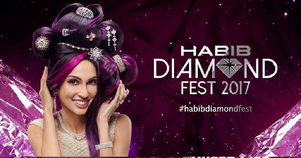 Malaysia: Habib Jewels, Habib Diamond Fest 2017 (1st April to 30th April 2017)