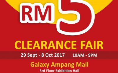 Malaysia: KIKO & Baby KIKO Clearance Fair @ Galaxy Ampang Mall (28 Sept – 8 Oct 2017)