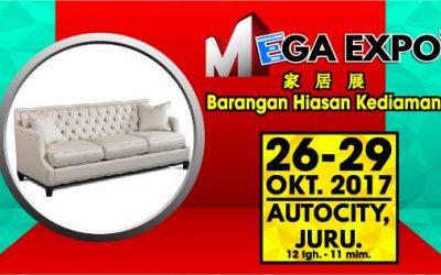 Malaysia: MEGA EXPO ELECTRICAL & HOME FAIR Penang (26 – 29 October 2017)