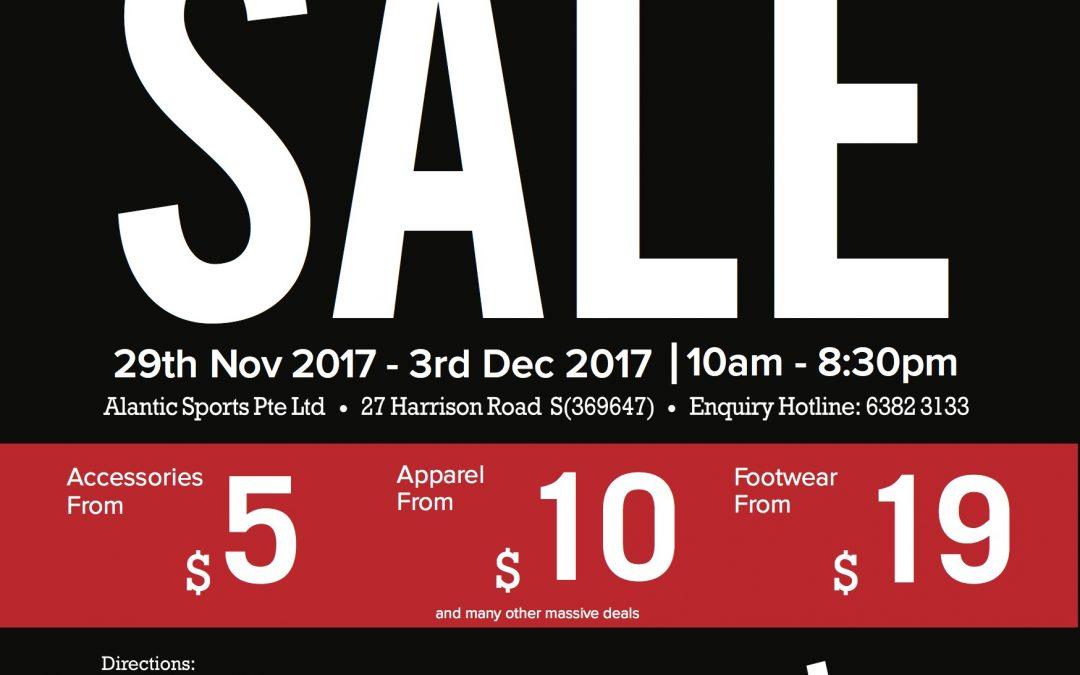 Singapore: Converse Warehouse Sale
