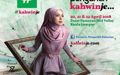 Malaysia: Pameran Pengantin Kahwinje by KLPJ at Mid-Valley (20 – 22 APRIL 2018)