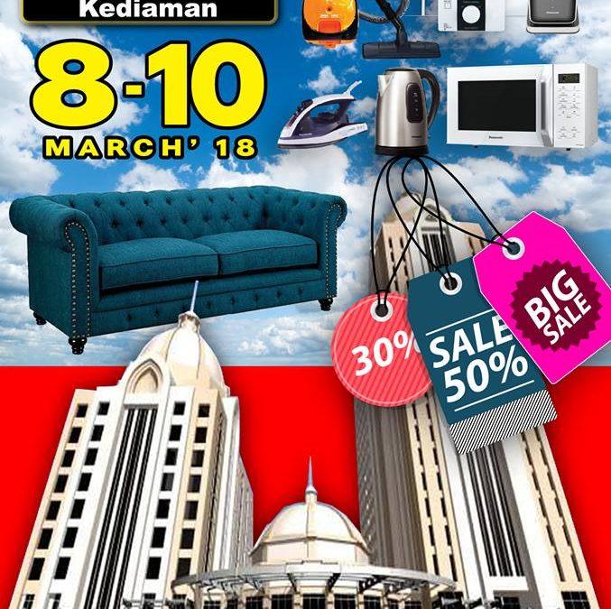 Malaysia: Mega Expo Electrical & Home Fair 2018 (8-10 March 2018)