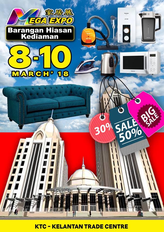 Malaysia Mega Expo Electrical Home Fair 2018 8 10 March 2018