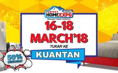 Malaysia: Mega Expo Electrical and Home Fair Kuantan 2018 (16 – 18 March 2018)